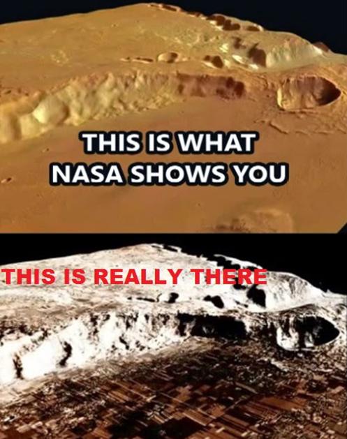 NASA ESCONDE CIDADES INTEIRAS EM MARTE city mars 2014 setembro setember aliens alienigenas extraterrestres naves vida life (Copy)